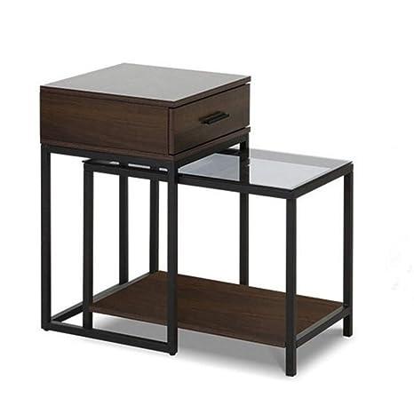 Amazon.com: Mesas YNN Nesting Set de 2, 2 piezas, juego de ...