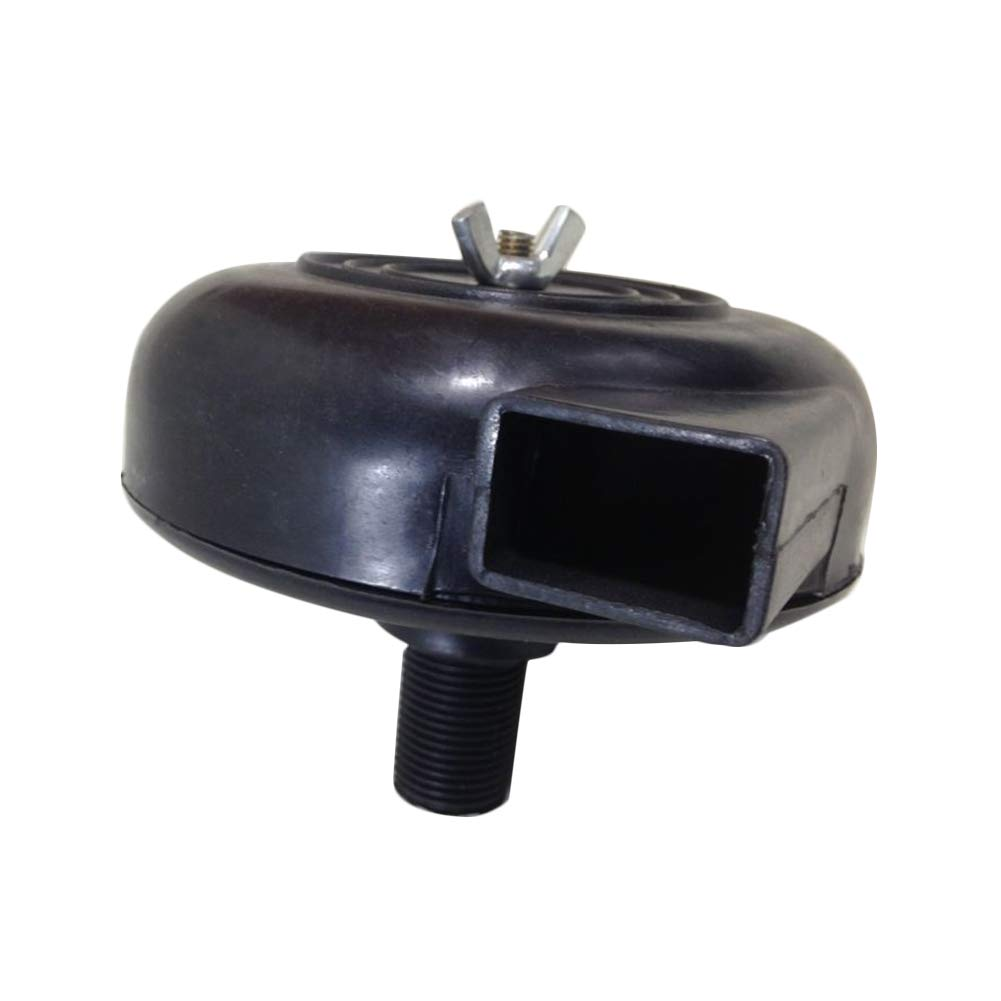 8PT Flusso daria in lumaca di plastica Filetto maschio Silenziatore daria Accessori Rumore Parti pneumatiche Sistema di aspirazione Pompa del compressore daria Silenziatore del filtro 16mm 3