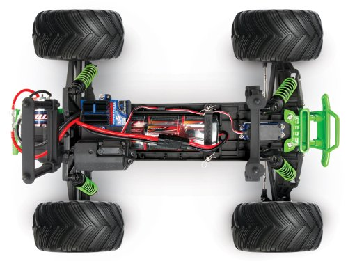 Amazon Traxxas Rtr 110 Monster Jam Grave Digger With 7 Cell