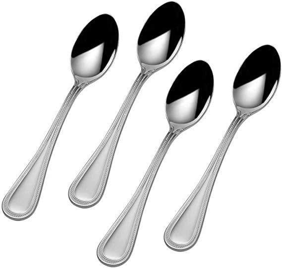 Towle Beaded Antique 18//10 Stainless Steel 6 1//4 Sugar Spoon