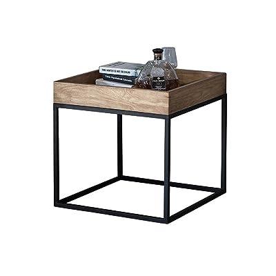 Étagère en fer forgé de style européen - étagère simple - étagère de fleur personnalisée - présentoir de plancher de porche - bois simple créatif /