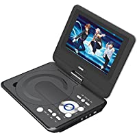 NAXA Electronics NPD-952 9-Inch TFT LCD Swivel Screen Portable DVD Player with USB/SD/MMC Inputs
