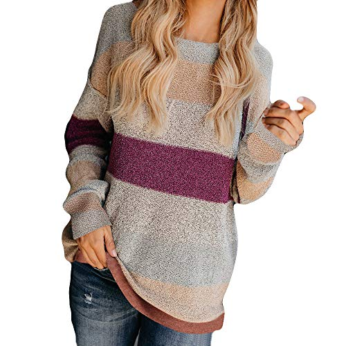 - ICE Cream Women's Color Block Long Sleeve V Neck Drawstring Pullover Hoodie Sweater Tops