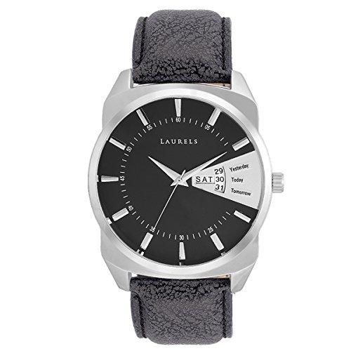 Laurels Analog Black Dial Men's Watch – Lo-Inc-202