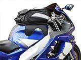 Motorcycle Sport Bike Riding Magnetic Gas Tank Bag Backpack w/ Rain Cover (Black)