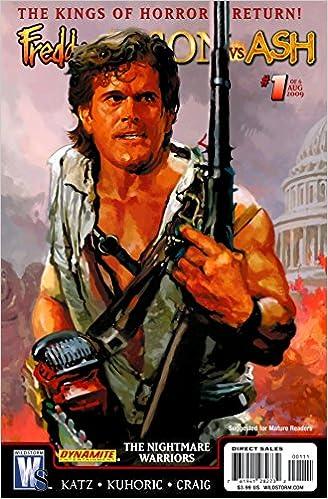 Freddy Vs Jason Ash 1 Cvr The Nightmare Warriors S Peterson Amazon Books