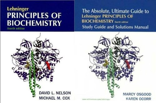 Lehninger Principles of Biochemistry 4e & Absolute, Ultimate Guide & Lecture Ntb