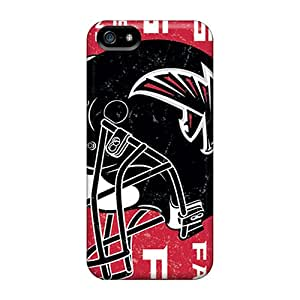 Hot Tpye Atlanta Falcons Case Cover For Iphone 5/5s
