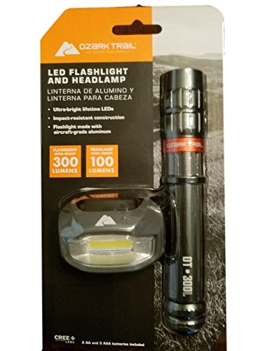 Ozark Trail Flashlight/Headlamp by OZARK