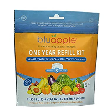 Bluapple One Year Refill Kit ( 2 Packs of 8 total of 16)