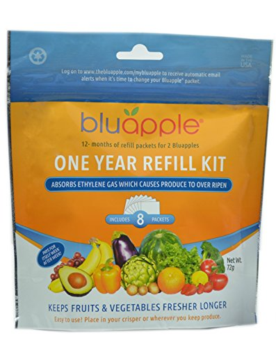 Bluapple One Year Refill Kit (2 Packs of 8 total of 16)
