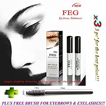5c48540d043 3 X BEST Eyebrow Growth Product Most Effective Growth Serum to LENGTHEN & THICKEN  Eyebrows;