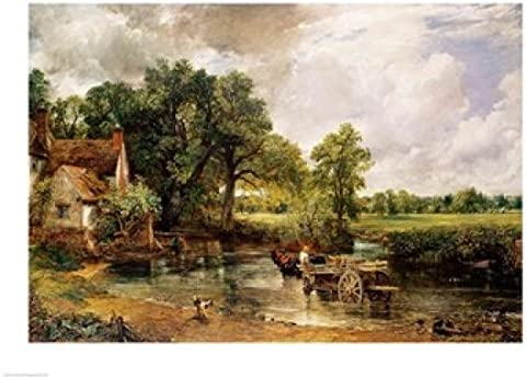 - Art Print Painting Poster The Hay Wain John Constable 1821