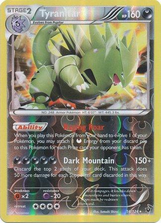 Tyranitar Pokemon Card - 1