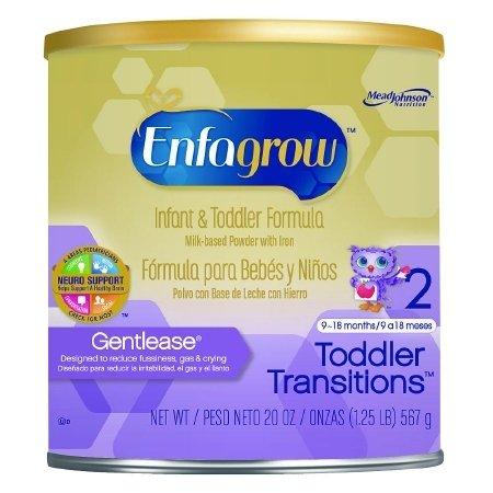 Enfagrow Gentlease Toddler Formula - Powder - 20 oz - 4 pk
