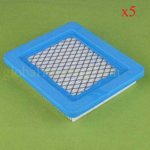 FidgetGear 5packs AIR Filter for Briggs &Stratton 491588S 491588 5043 Lawnmowers from FidgetGear
