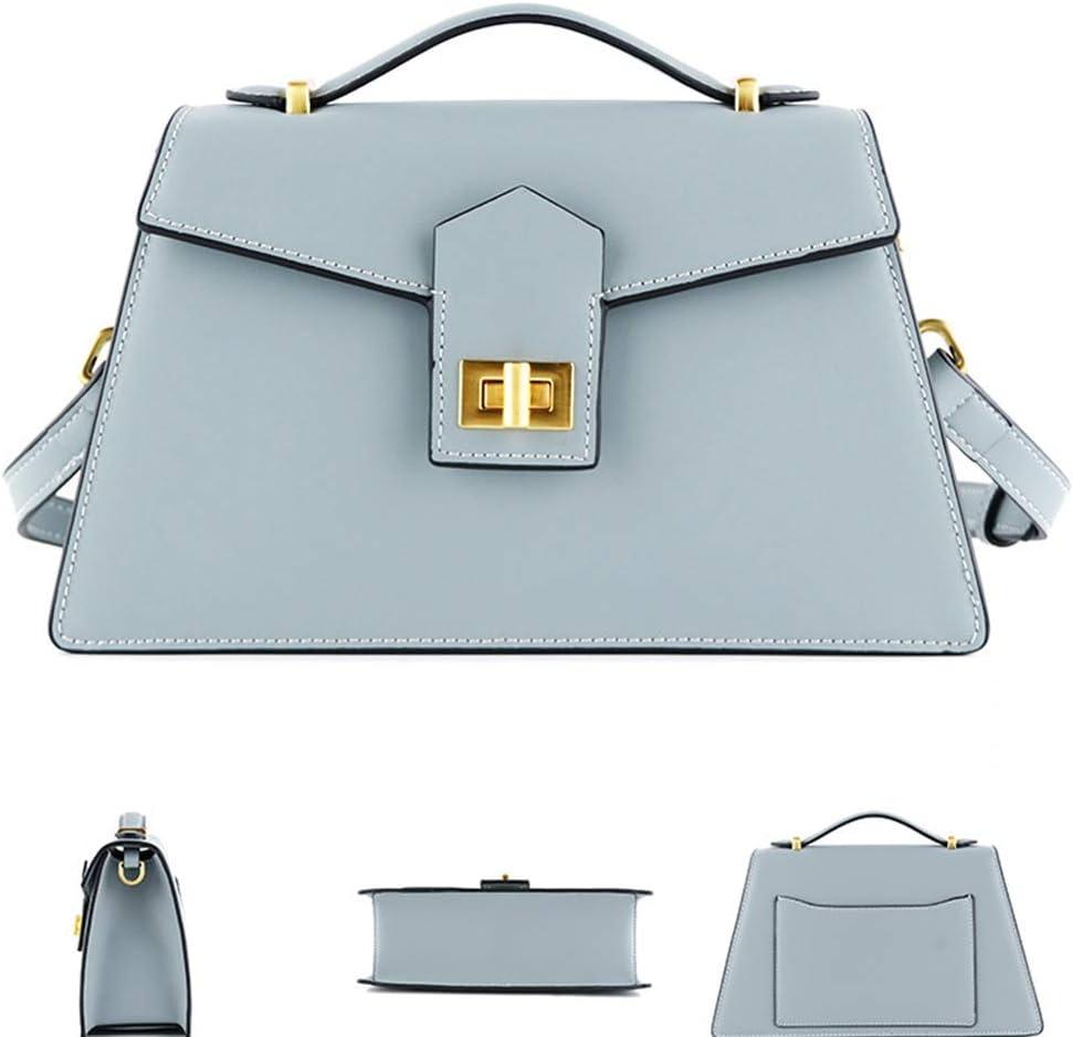 GXLY Borsa Femminile Bag Borse Versatile Blocco Tracolla Diagonale Borsa A Tracolla Nera 13.5 * 8 * 25cm White White