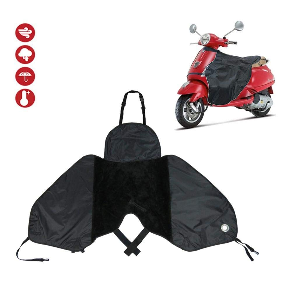 Leg Lap Apron Cover for Scooter, Velvet Thermal Waterproof Windproof Scooter Leg Covers, Leg Warming Protector, Universal Knee Warm Quilt for Electric Cars Motorbike by Window-pick