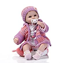 """Hbtoys 17inch """"A Moment In My Arms, Forever In My Heart"""" Reborn Baby Girl Boy Dolls Look Real"""