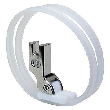 Terciopelo de hidroquinona, máquinas de coser industriales del anillo del rodillo del pie: Amazon.es: Hogar