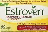 Estroven - Menopause Relief Maximum Strength - 60 Capsules