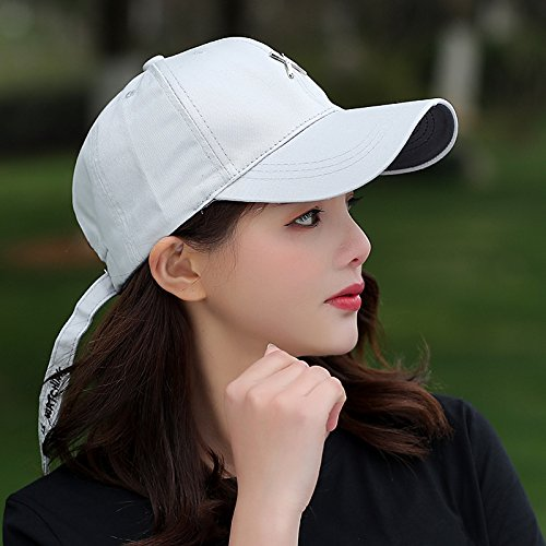 Amazon.com: The Spring and Summer Baseball Cap Hat Female Student Outdoor Leisure hat, Sun Yun Peaked Cap Cap,(55-59),Khaki: Kitchen & Dining