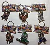 Masked Rider Ryuki figure Keychain ~ Ryuki complete Hen all six set Banpresto
