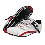 Exustar E-SR403 Road Shoe, White, Size 46