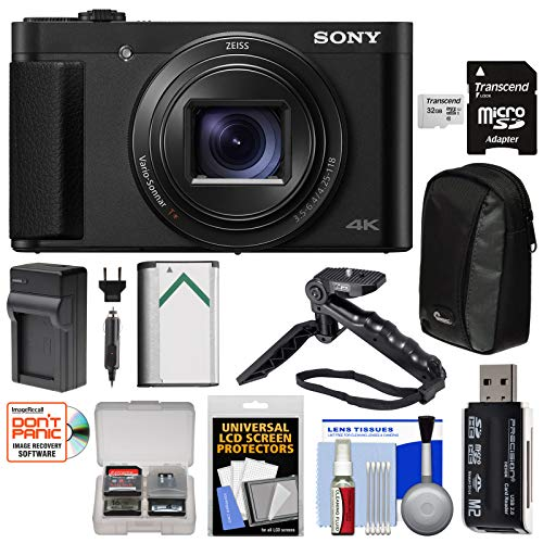 Sony Cyber-Shot DSC-HX99 4K Wi-Fi Digital Camera with 32GB Card + Battery + Charger + Case + Tripod + Kit