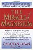 carolyn dean magnesium - The Miracle of Magnesium