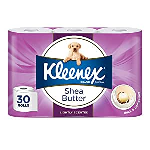 KLEENEX Toilet Tissue Shea Butter Toilet Paper (Pack of 30)