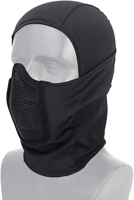 Fansport Windproof Face Mask Outdoor Winter Warm Mask for Motorcycle Cycling Skiing Balaclava Mask