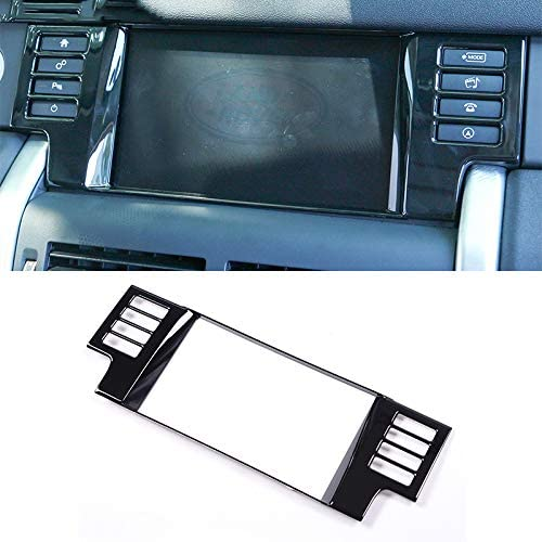 pour Land Rover Discovery Sport 2015-2017 ABS Chrome GPS Navigation Screen Frame Cover Trim Accessoires de Voiture