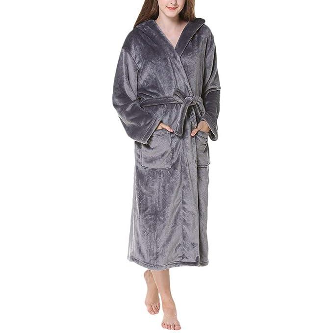 Unisex Supersoft Luxury Morning para para Hombre Vintage Mujer Talla Grande Franela con Capucha Chal con