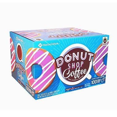 Member's Mark Donut Shop Coffee (100 single-serve cups) (packof 6) by Member's Mark