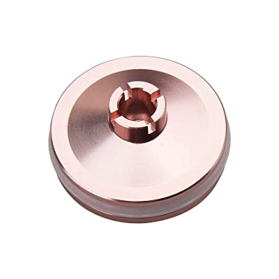 WORKER Piston Pushing Head Injection Molding Rose Gold Part for Nerf Longshot CS-12 Modify Toy: Toys & Games