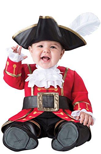 Fun World Baby Boys' Captain Cuteness Costume, Multi -