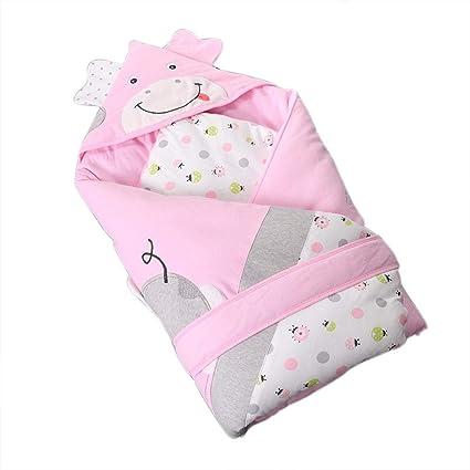 Manta de Bebe Recien Nacido Bebé Muselina Swaddle Manta Algodón Bebé Swaddle Wrap