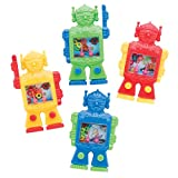 SmileMakers Robot Water Games - Prizes and Giveaways - 24 per Pack