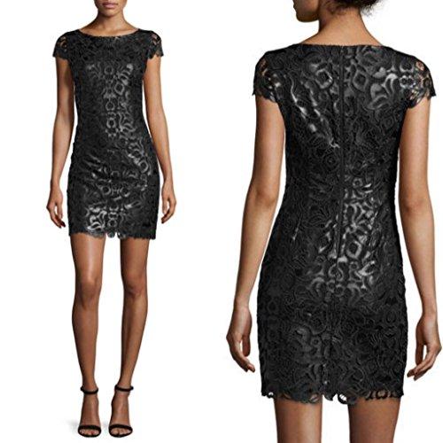 alice and olivia black leather dress - 3