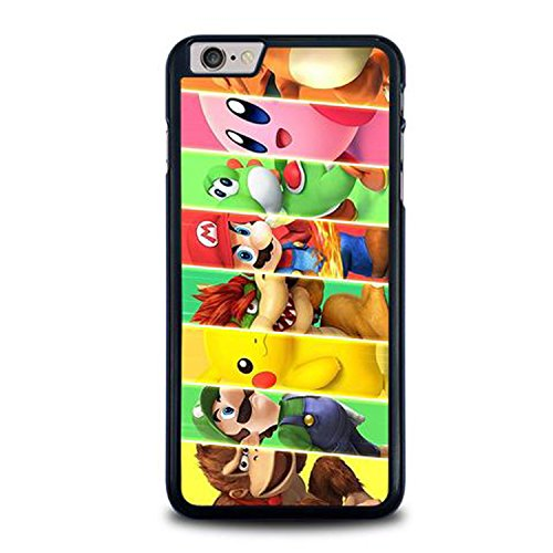 Coque,Super Smash Bross Characters Case Cover For Coque iphone 6 / Coque iphone 6s