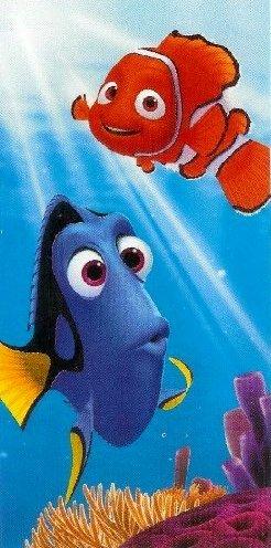 Disney Pixar Finding Nemo & Dory Beach Towel From the Movie