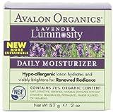 Avalon Organics, Daily Moisturizer, Lavender, 2-Ounce Jar