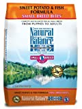 Natural Balance L.I.D. Limited Ingredient Diets Sweet Potato and Fish Small Breed Bites Formula for Dogs - 12-1 2-Pound Bag