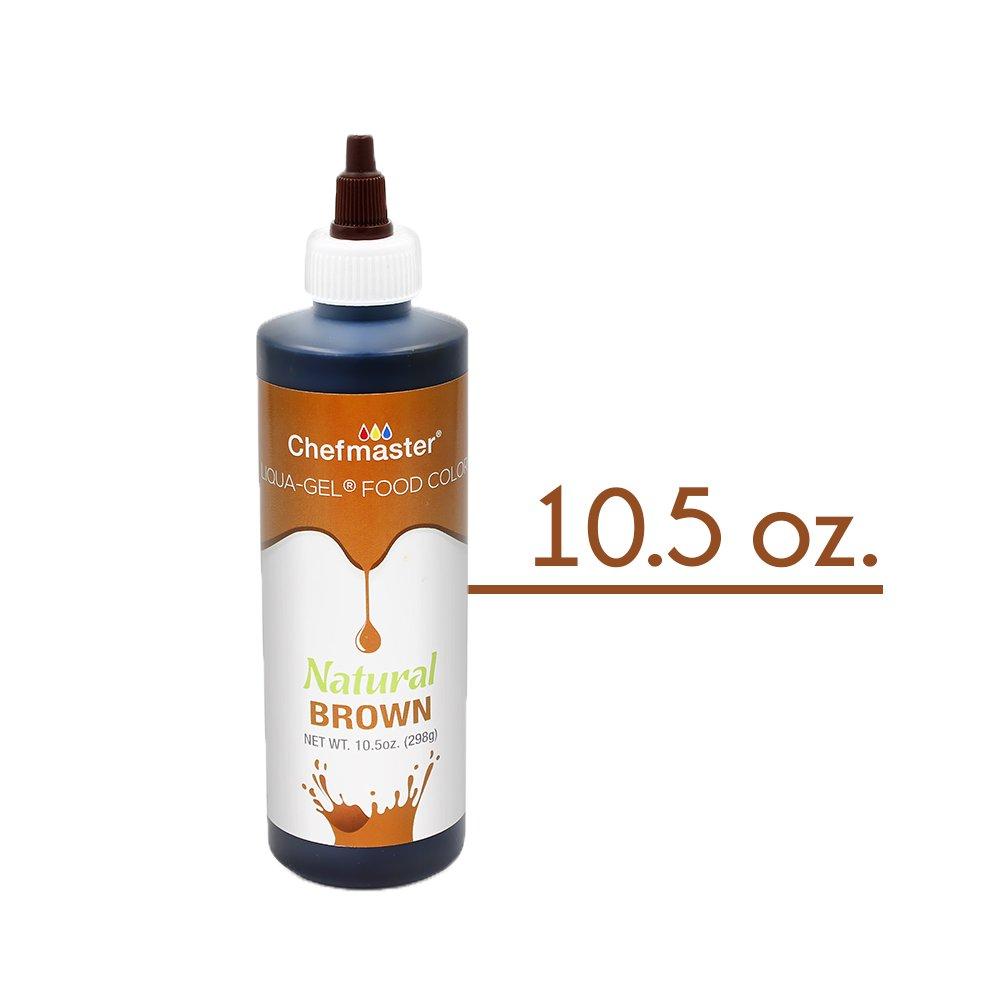 Amazon.com : Chefmaster All Natural Food Coloring Organic Brown Gel ...