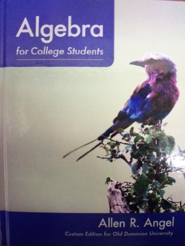 Algebra for College Students (Custom for Old Dominion University)