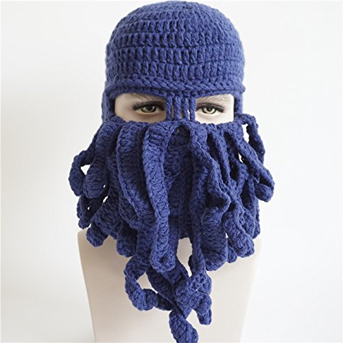 hat tejer Navy blue winter enmascarado sombreros Navidad negro MASTER Hombre Mujer Halloween tejer hat beanie TqCHnPwxv