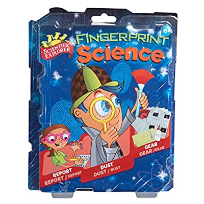 Scientific Explorer Fingerprint Science Mini Lab: Toys & Games