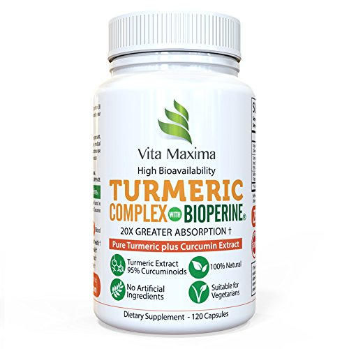 Vita Maxima Turmeric Supplement Bioperine