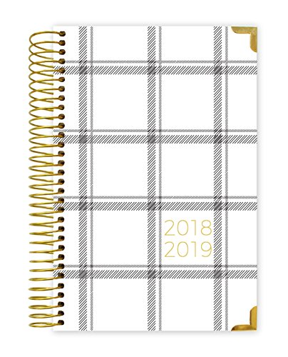 (Bloom Daily Planners 2018-2019 Academic Year HARDCOVER Day Planner - Monthly/Weekly Calendar Book - Inspirational Dated Agenda Organizer - (August 2018 - July 2019) - 6